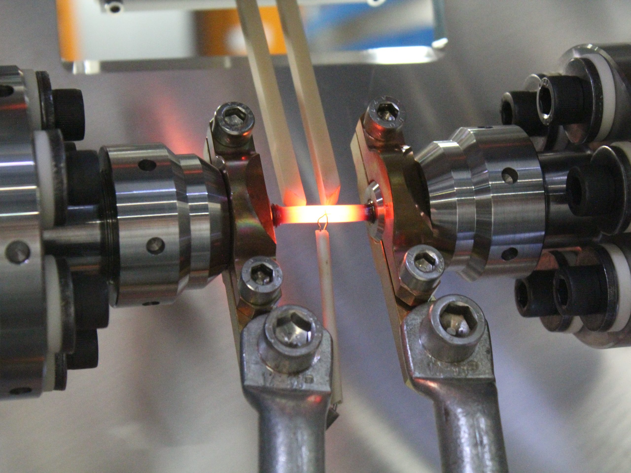 Pressure and heat: Testing alloys for gas turbines