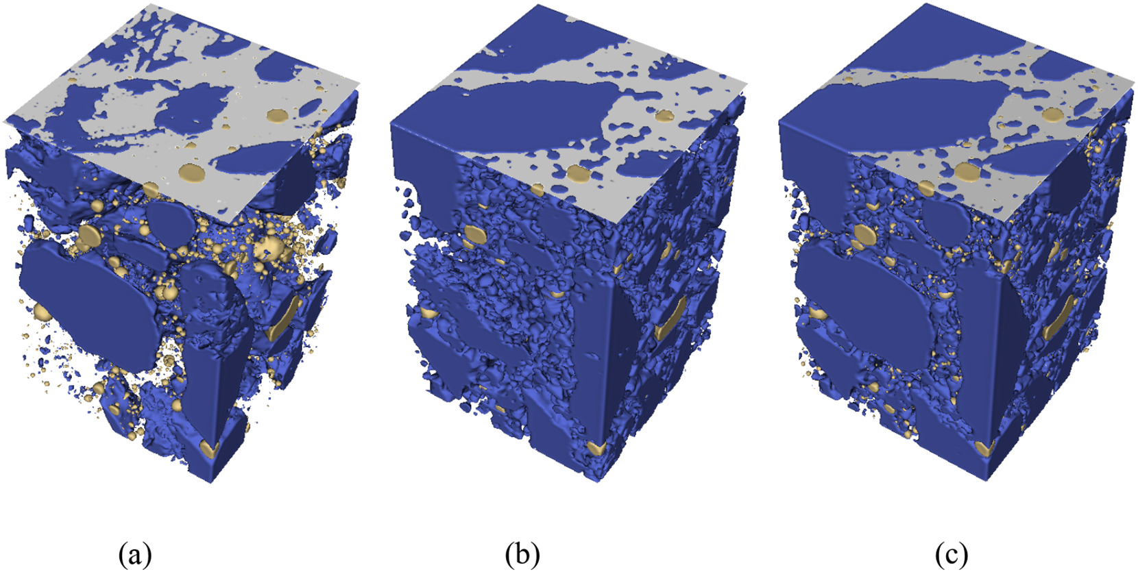 Microstructure of concrete: neutron & X-ray tomography reconstruction